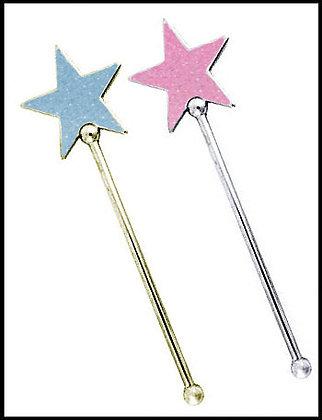 Ραβδάκι Αστέρι Μεταλλικό 14cm x 4,5cm
