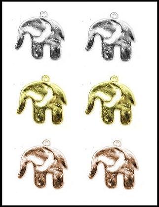 Ελεφαντάκι Μεταλλικό 2,5cm x 2,5cm