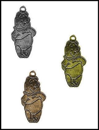 Αρκουδάκι Μεταλλικό 3cm x 2cm