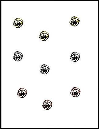 Μεταλλική Χάνδρα 8mm
