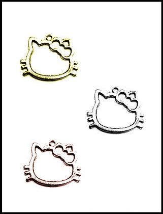 Hello Kitty Μεταλλική 3cm x 3cm