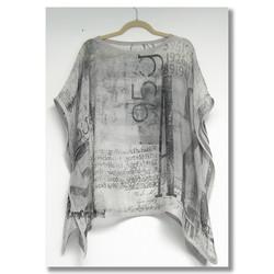 designer silk tunic