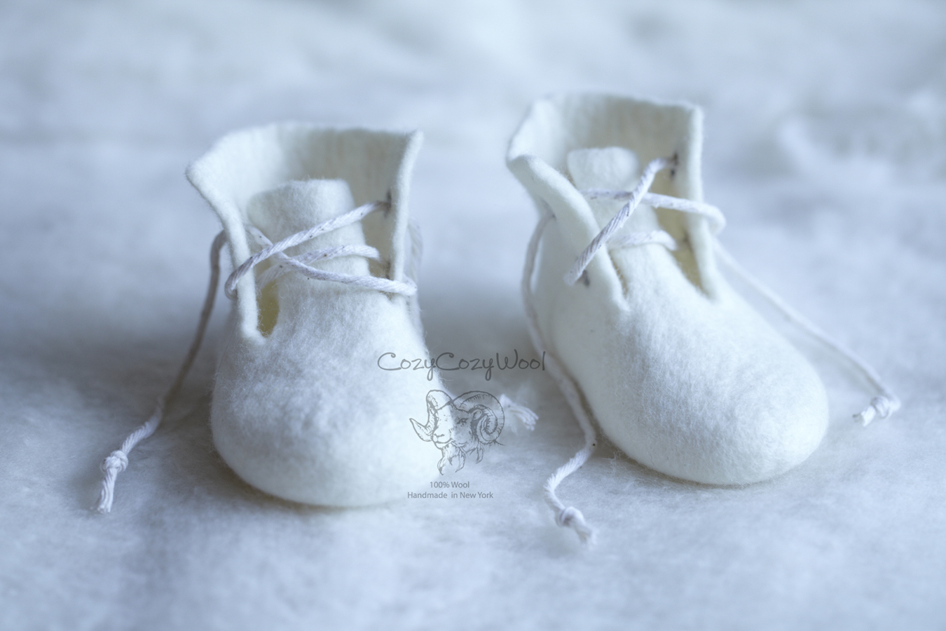 wool booties(sold)