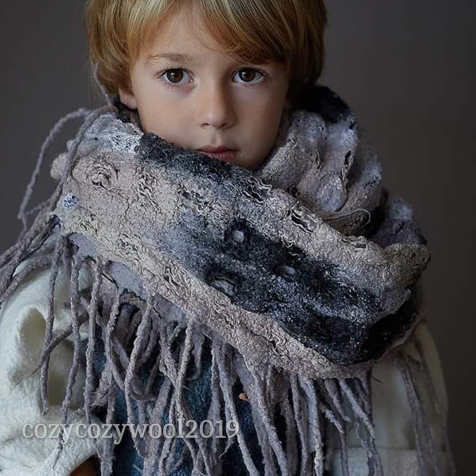kids chunky scarf