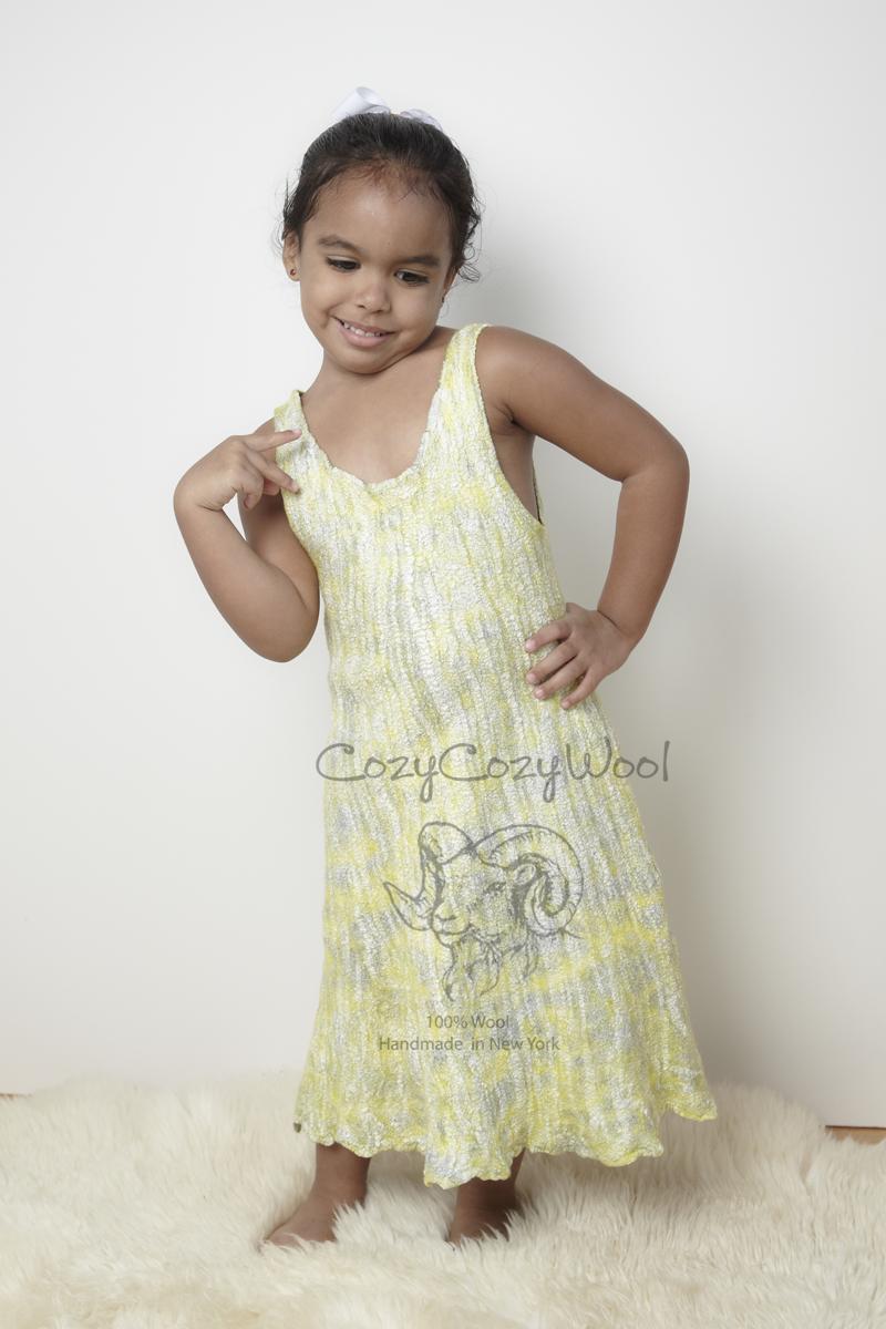 silk wool dress(sold)