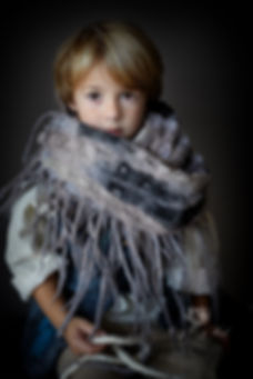 chunky kids scarf