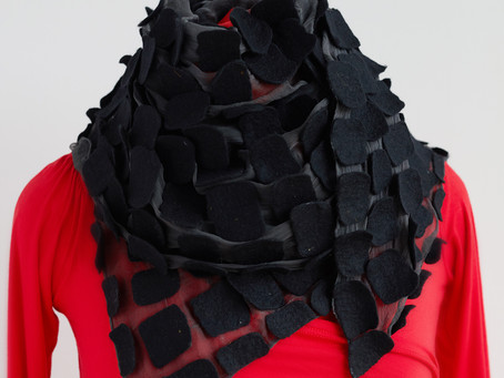 Finish off  looks in style with eye-catching scarf