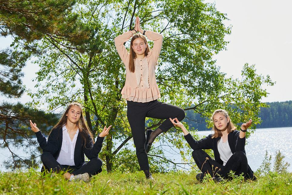 школьная йога