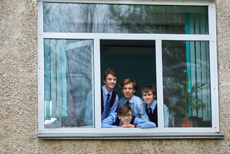 школьное окно
