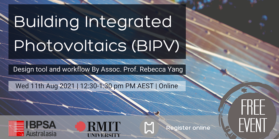 Building Integrated Photovoltaics (BIPV): a design tool and workflow with Rebecca Yang