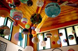 Art Decorates the Ceiling