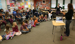 The Primary Students Presentation