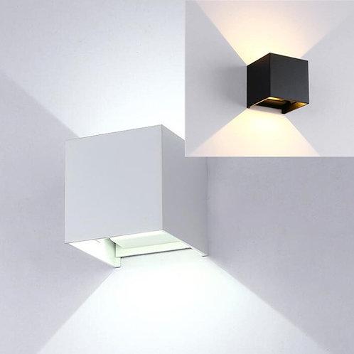 ARANDELA EXTERNA LED C/2FACHOS 6W