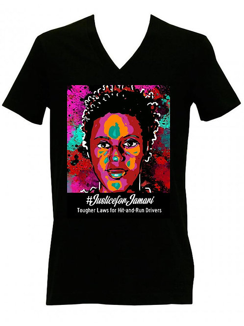 Justice for Jamari abstract t-shirt
