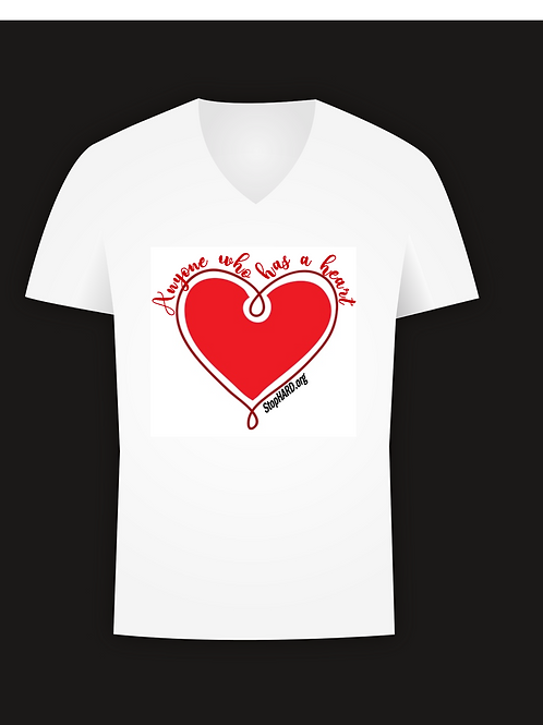 Stop HARD Anyone Who Has a Heart t-shirt