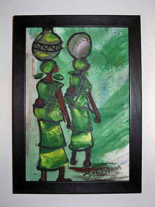 2 Women Green