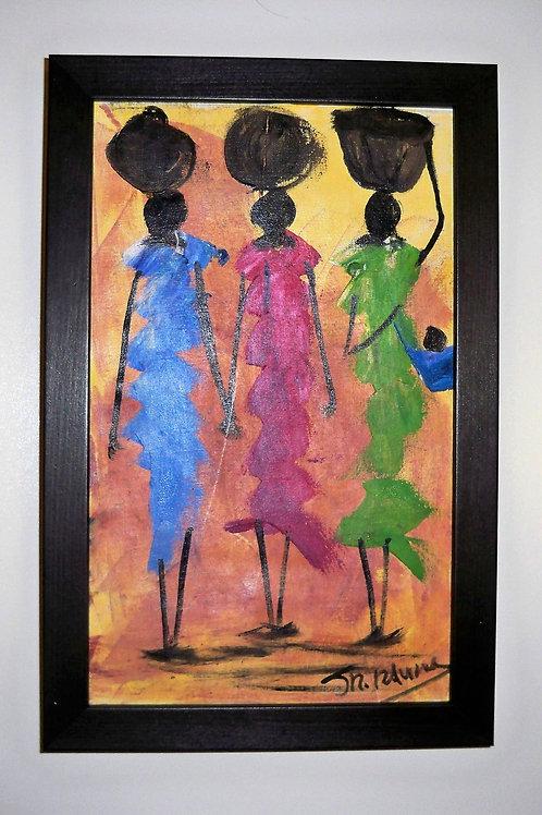 3 Women Pink/Green/Blue