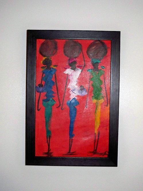 3 Women Red