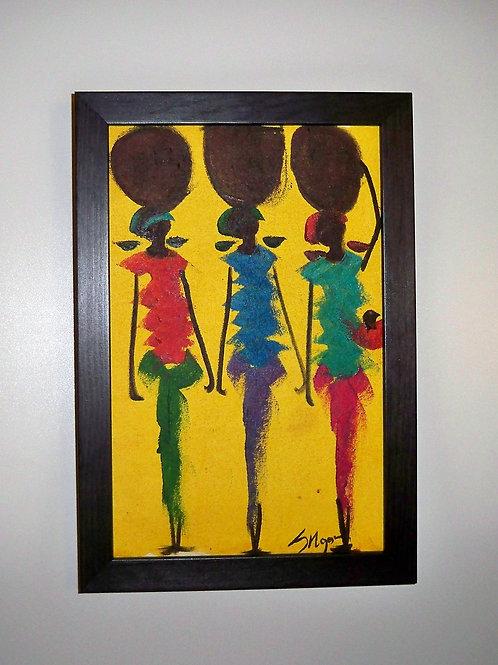 3 Women Yellow