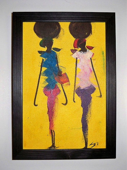 2 Women Yellow