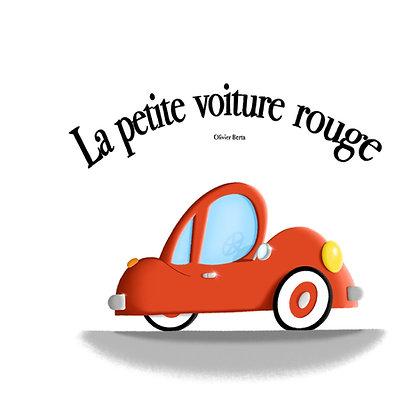 La petite voiture rouge