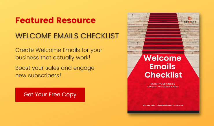 Free Welcome Emails Checklist