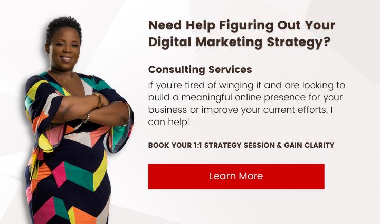 Digital Marketing Strategy Consultation