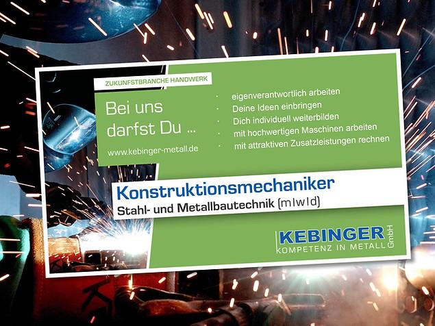 Kebinger – Kompetenz in Metall