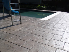 Stamped Concrete Pool Deck Sealing, Canton, Ma