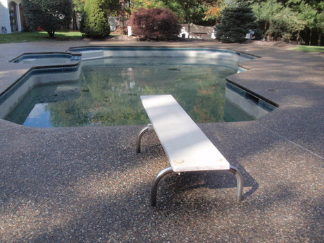Exposed Aggregate Pool Deck Sealing, Franklin, Ma