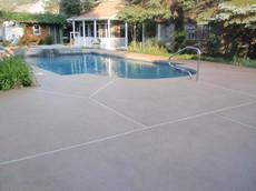 Regular Concrete Sealing Pool Deck, Dedham, Ma