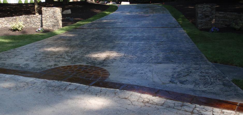 Stamped Concrete Driveway Sealing, Wrentham, Ma , Ma