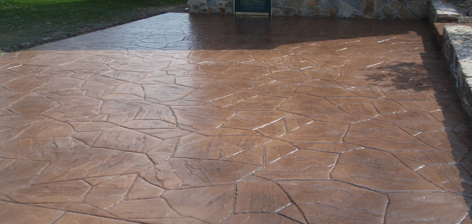 Stamped Concrete Driveway Sealing, Westwood, Ma