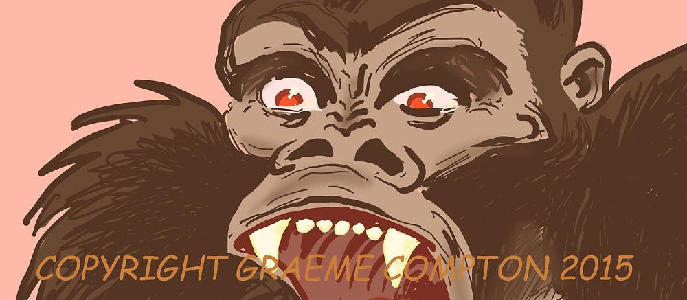 GORILLA GROUCH! Copyright Graeme Compton 2015
