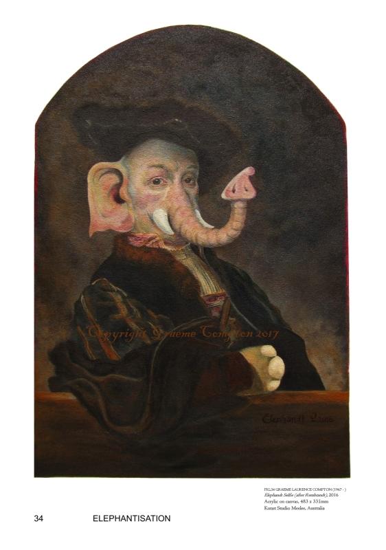 Graeme Compton Elephandt Selfie 2018
