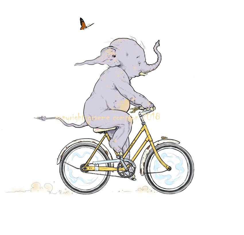 Graeme Compton Cyclephant 2018