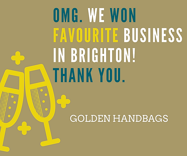 At Bone Idol We Are Dancing Around Ours Because Totally Thrilled To Have Won A Golden Handbag Award