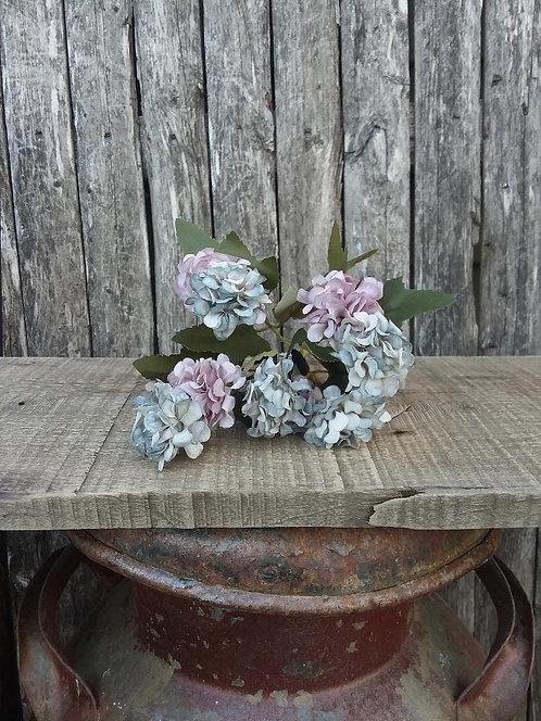 Purple/Blue Petite Hydrangea Pick