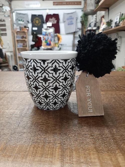 Black Pattern Mug