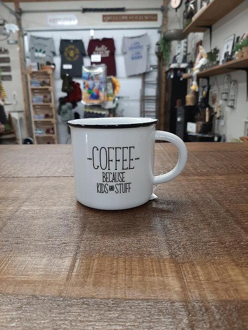 Coffee Because Mug
