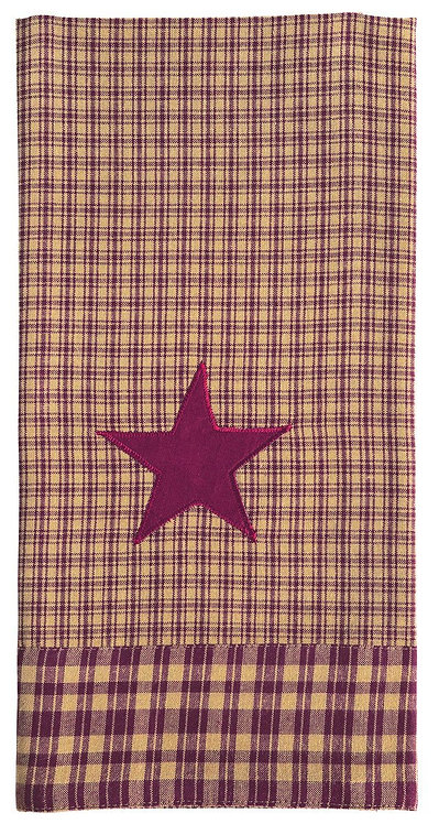 Vintage Star Dishtowel