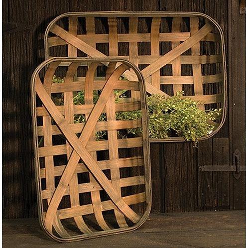 Tobacco Baskets- S/2