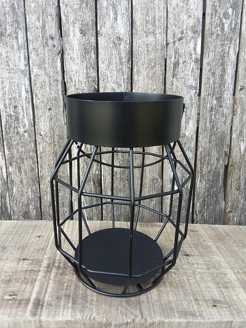 Black Iron Cage Lantern