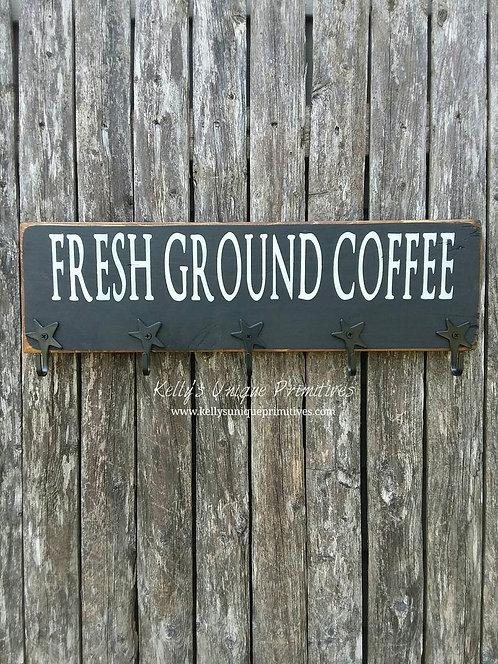 Fresh Ground Coffee Mug Holder