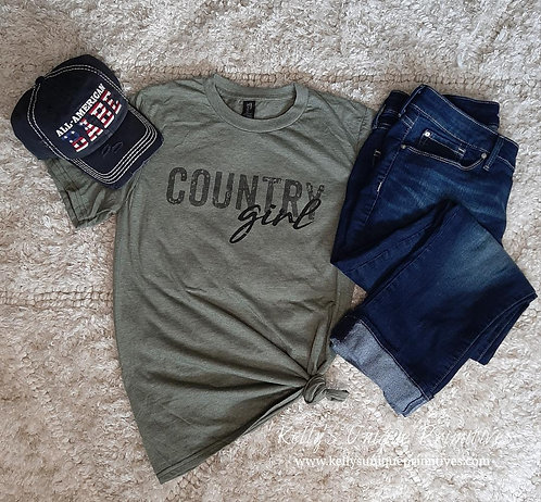 Country Girl Graphic Tee