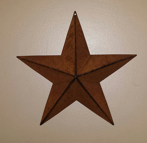 "24"" Rusty Barn Star"
