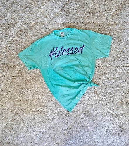 #blessed Graphic Tee