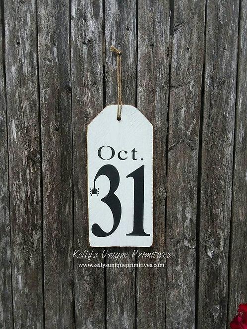Oct 31 Tag