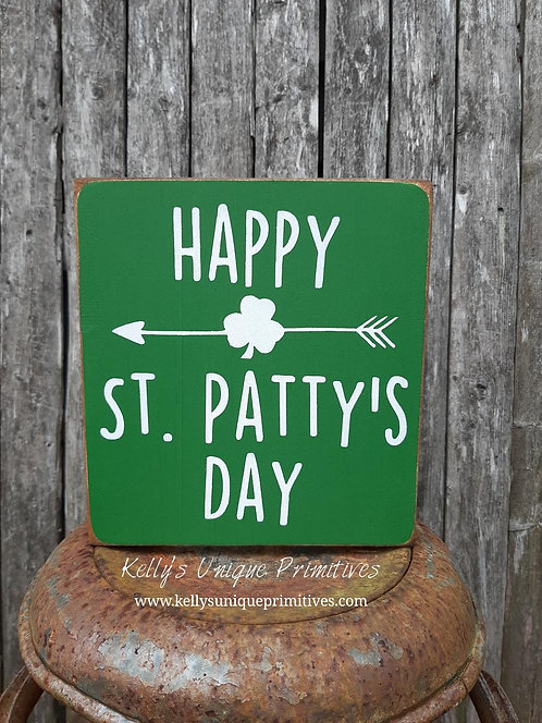 Happy St. Patty's Day Sign