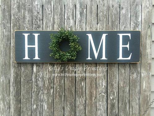 Horizontal Home Sign